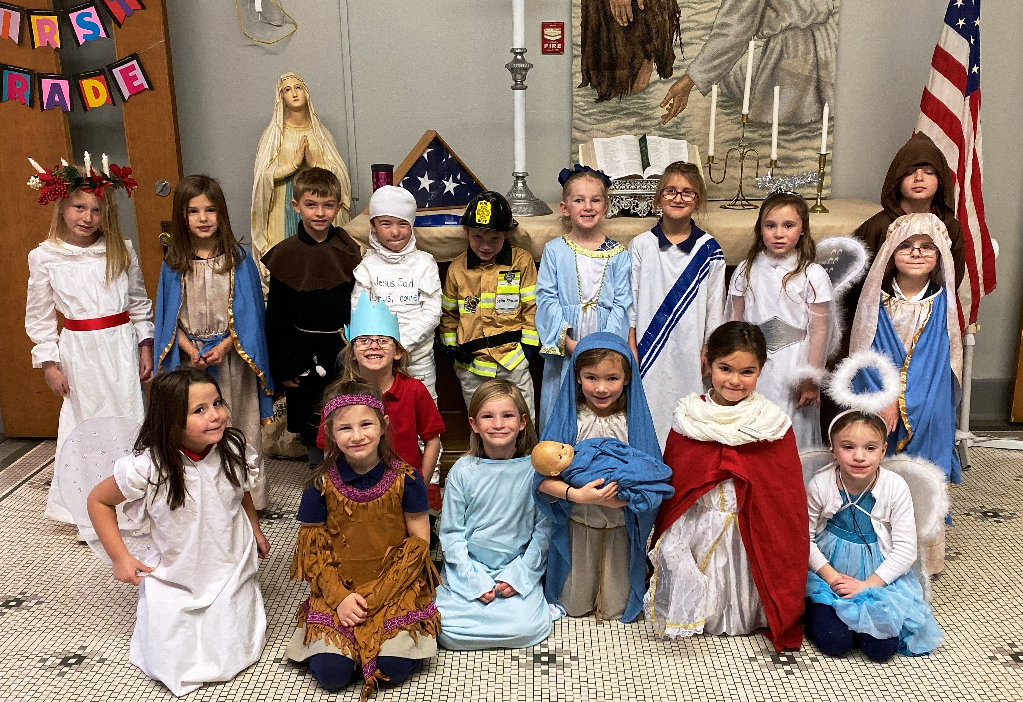 All Saints Day MCS 1st Grade
