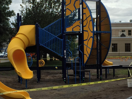 New playground is being installed!!!