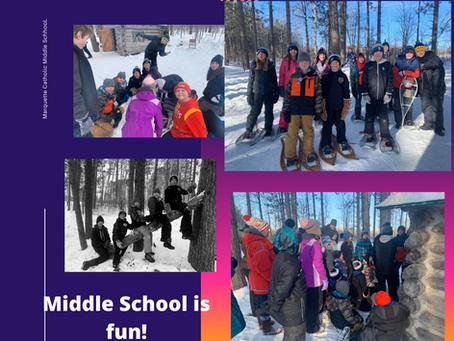 Middle School - New PE Experiences