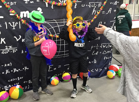 Middle Schoolers go to STEM Fair