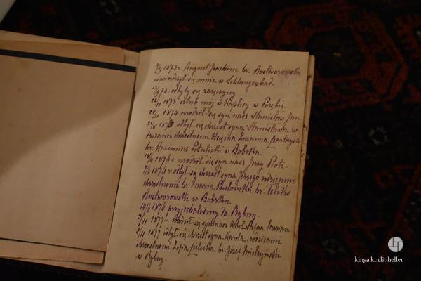 Rodzinne pamiątki udostępnione przez pana Karola Rostworowskiego
