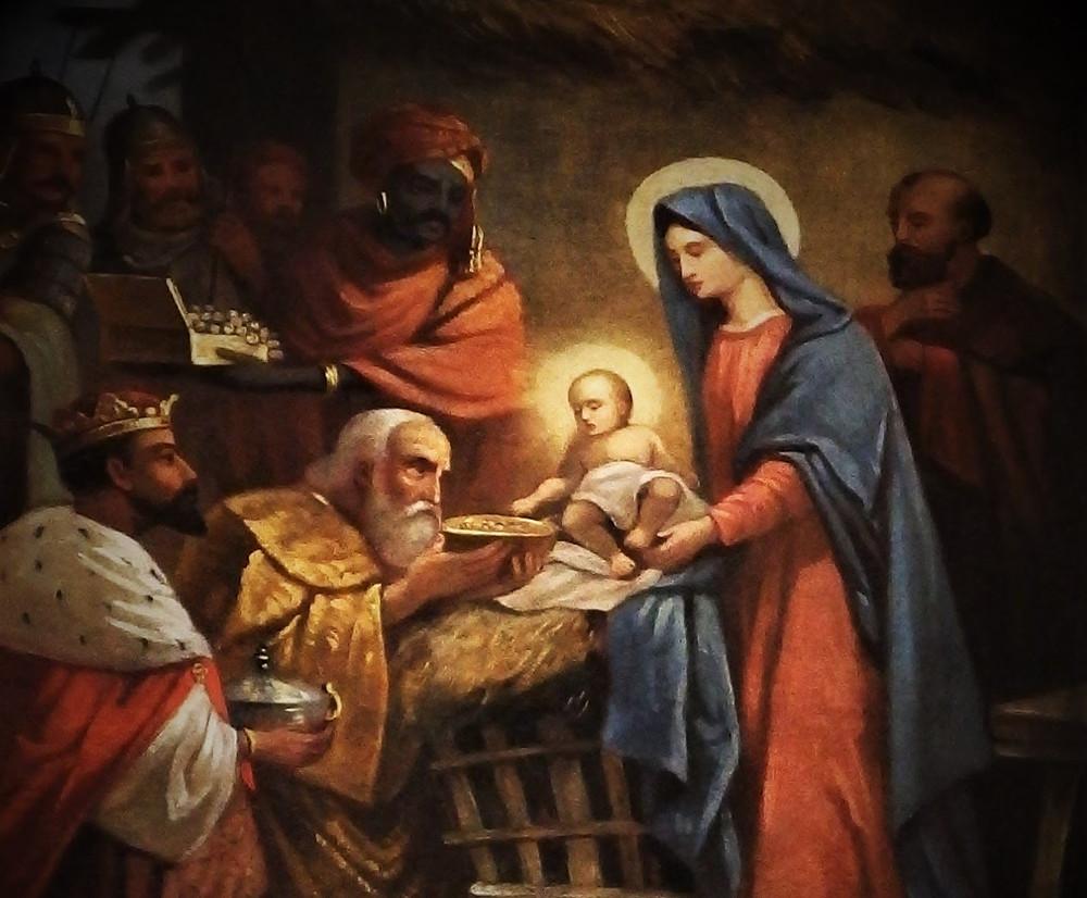 obraz w kościele pw Św. Kazimierza w Rybnej