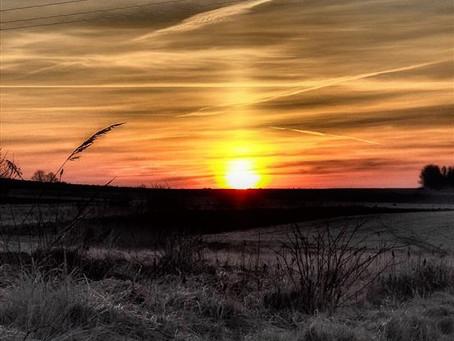 1 kwietnia, wschód słońca 6.20