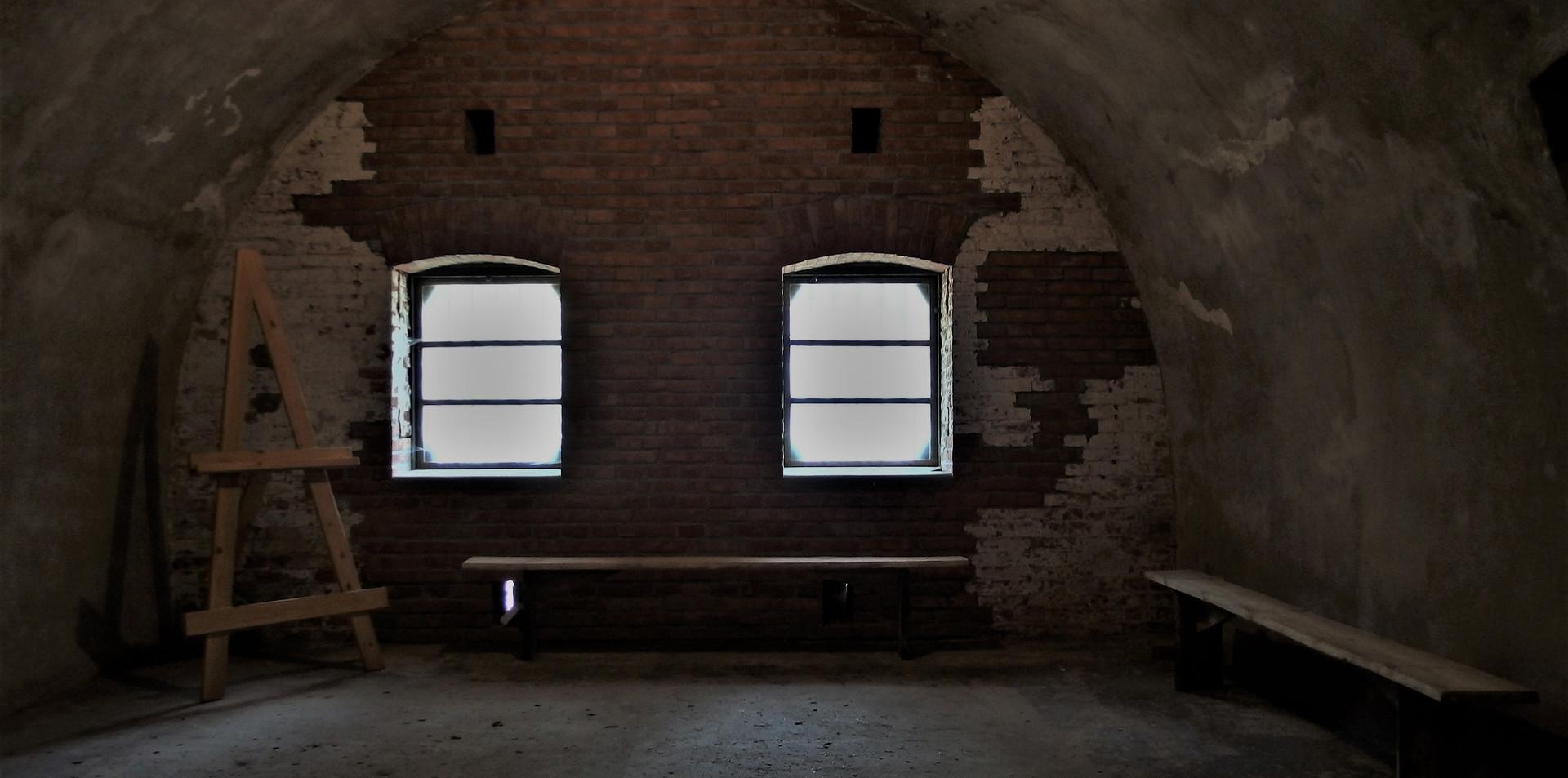 wnętrza fortu Tonie