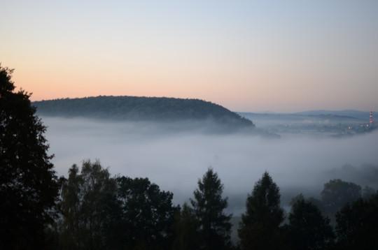 mgła nad Wisłą