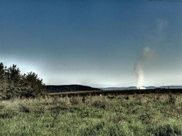 jesień pachnie dymem z ogniska