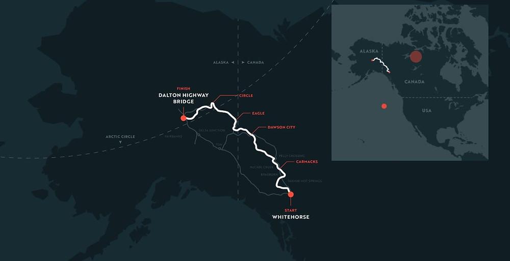 Yukon1000 map