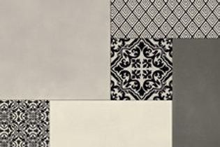 Rococo Patchwork Grey