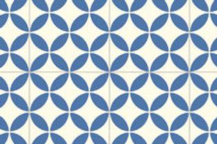 Rococo Delight China Blue