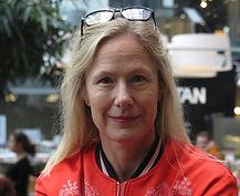 Porträtt på Carin Hedström, journalist på Carin Hedström Media AB. Fotograf: Elisabeth Redlig.