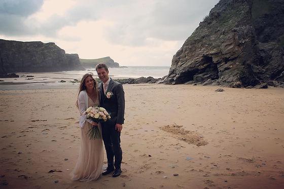 Beach Wedding in Newquay