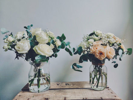 Bridal Bouquet and Table Centre