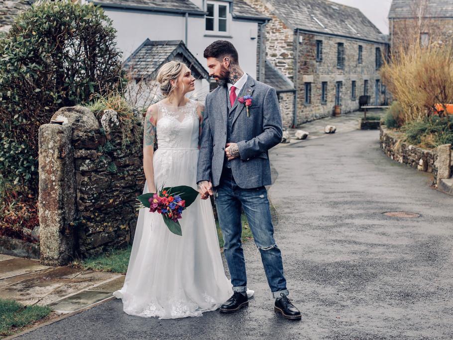 Bridal Bouquet & Buttonhole