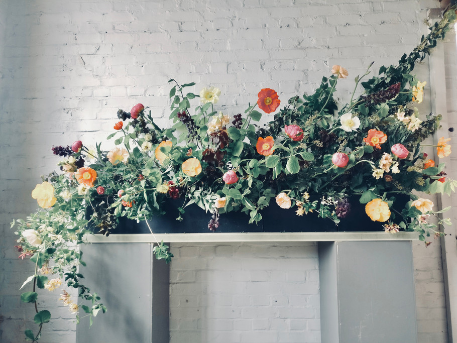 Large Floral Decoration