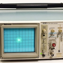 Tektronix oscilloscope typically used in the course of an embedded development project.