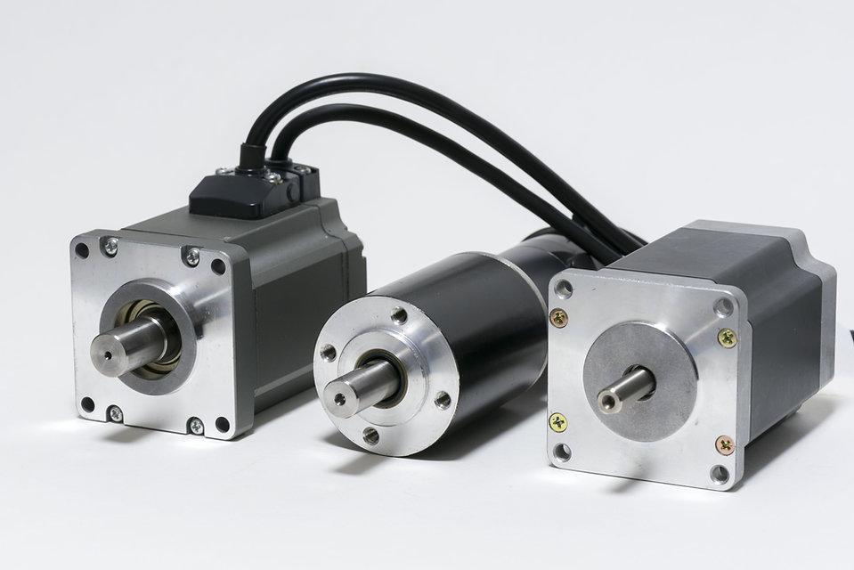 electric motors (AC servo motor, DC brus