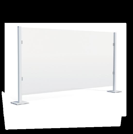 Custom Counter Top Acrylic Shield