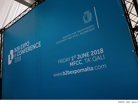 Ministry for the Economy holding Malta's first Business to Business Expo