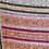 "Thumbnail: Vintage Kantha Quilt ""Brocade Stripes"""