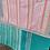 "Thumbnail: Vintage Kantha Quilt ""Peach/Pink"""