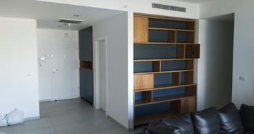 פרוייקט ברעננה - כוורת סלון וארון כניסה