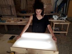 שולחן אור