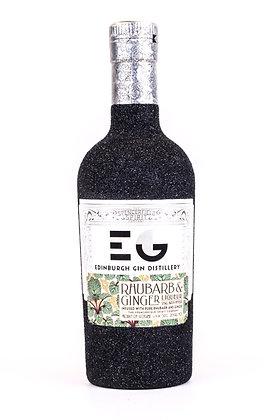 Edinburgh Gin Rhubarb and Ginger Glitter Bottle