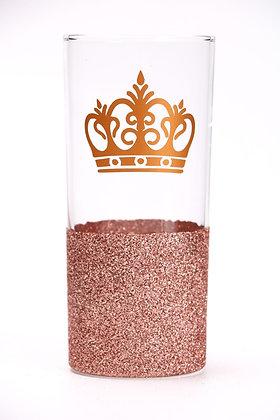Glitter Hiball Crown Glass