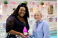 Glitz and Chic Alison Hammond