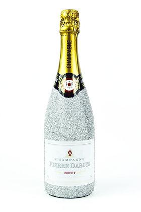 Glitter Pierre Darcys Champagne Brut Bottle