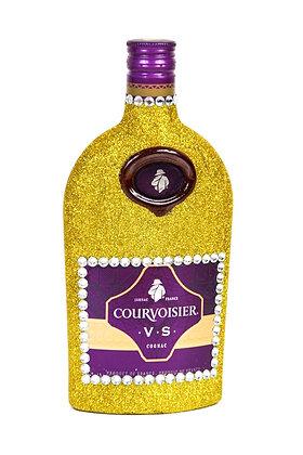 Glitter Courvoisier Cognac VS Bottle