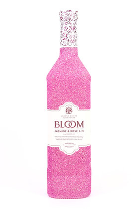 Glitter Bloom Jasmine and Rose Pink Gin