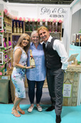 The Speakmans with a Glitzs & Chic Moet Bottle