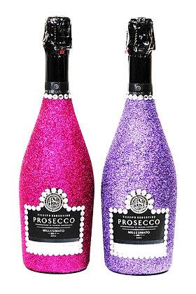 Glitter Fillipo Sansovino Prosecco bottle