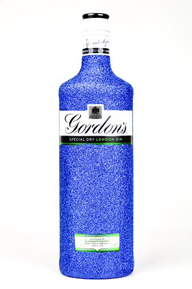 Glitter Gordon's London Gin Bottle