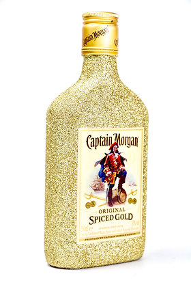 Glitter Captain Morgan Original Spiced Gold Rum