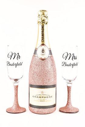 Wedding/Anniversary Champagne Gift Set