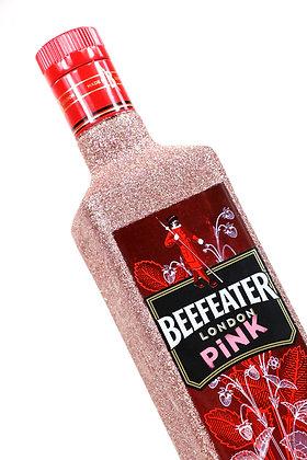 Beefeater Pink Glitter Gin Bottle
