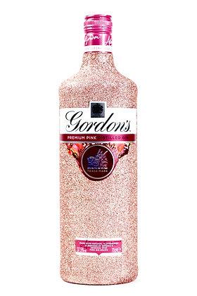 Glitter Gordon's Pink Gin Bottle
