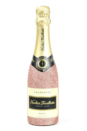 Glitter Nicolas Feuillatte Champagne Bottle