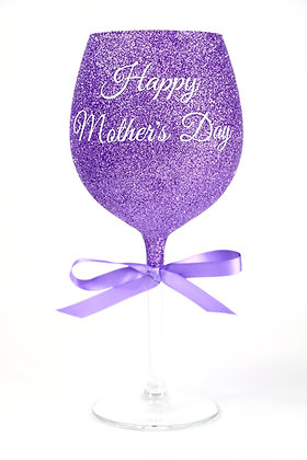Large Personalised Wine Glass