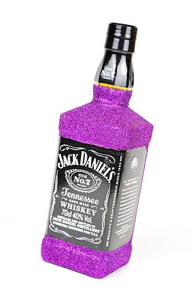 Glitter Jack Daniel's Bottle