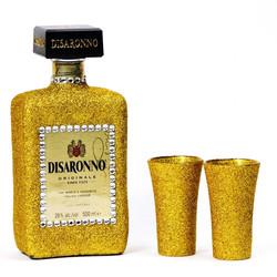 Glitter Disaronno  Bottle