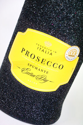 Glitter Prosecco Extra Dry Bottle