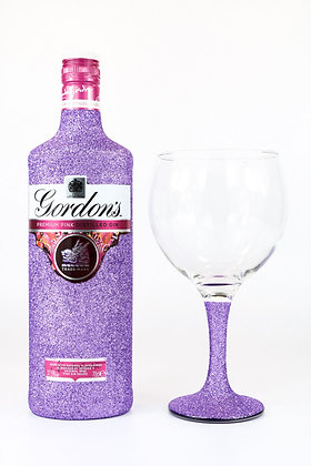 Glitter Pink Gin Gift Set