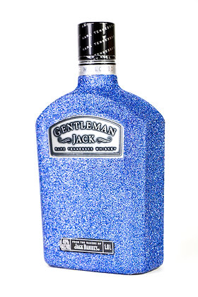 Glitter Gentleman's Jack Bottle
