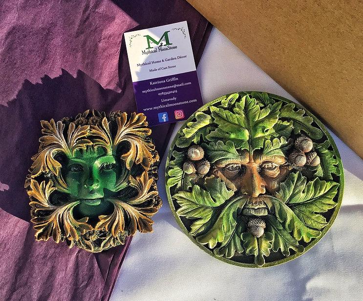 acorn-green-man-lady-garden-wall-ornamen