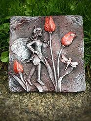 red-purple-tulip-fairy-garden-ornament-gift