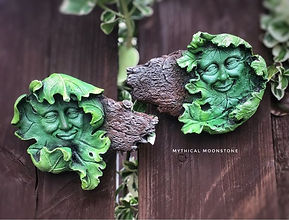 decorativestonegreenmangardenwallornamen