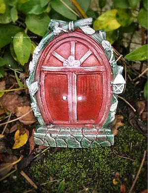 Red-mythical-enchanting-fairy-garden-door-gift